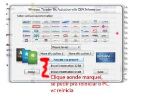 Ativando Windows7