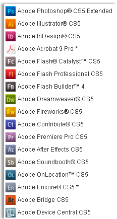 Adoce cs5 What' is New