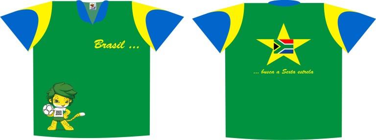 camisa brasil copa do mundo