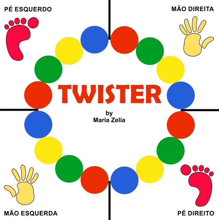 Molde Jogo Twister
